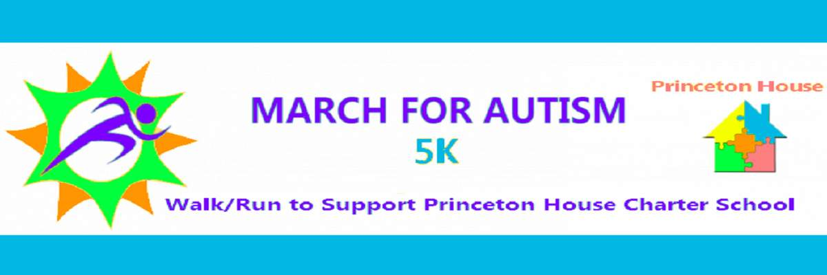 5th Annual March for Autism 5K Run/ Walk Banner Image