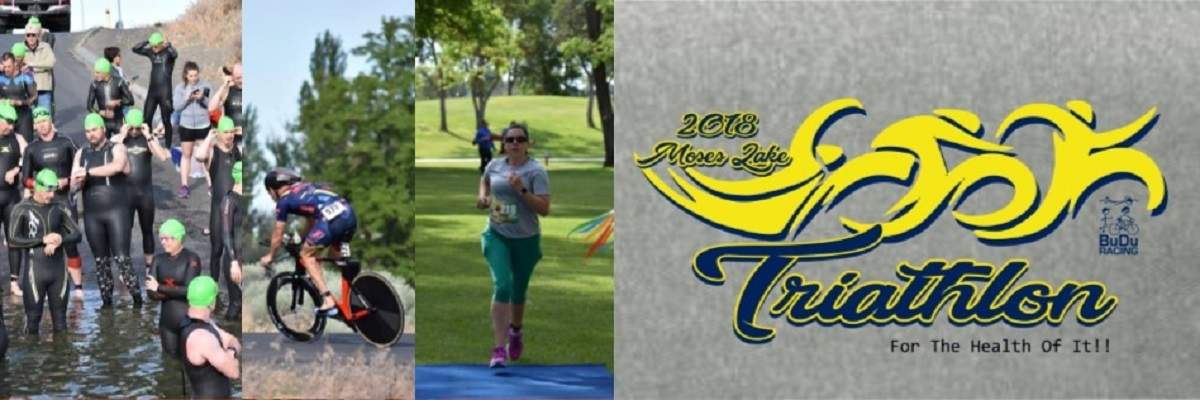 Moses Lake Tri: For the Health of It! Banner Image