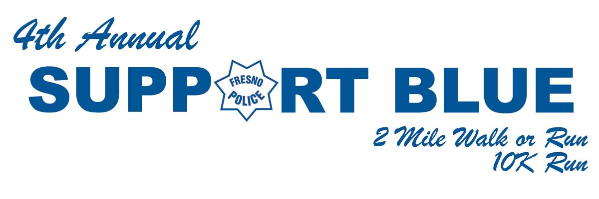 Support Blue Fresno 2Mile and 10k Banner Image