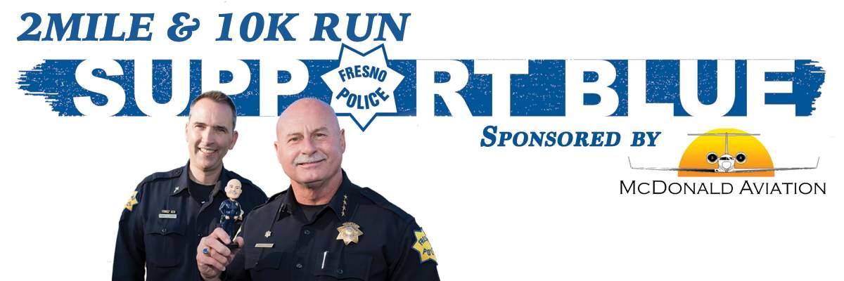 Support Blue Fresno 2Mile and 10k Banner Image