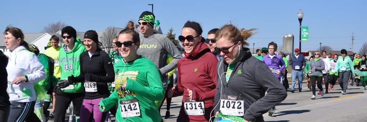 St Patrick's Day 5K Run/Walk Banner Image
