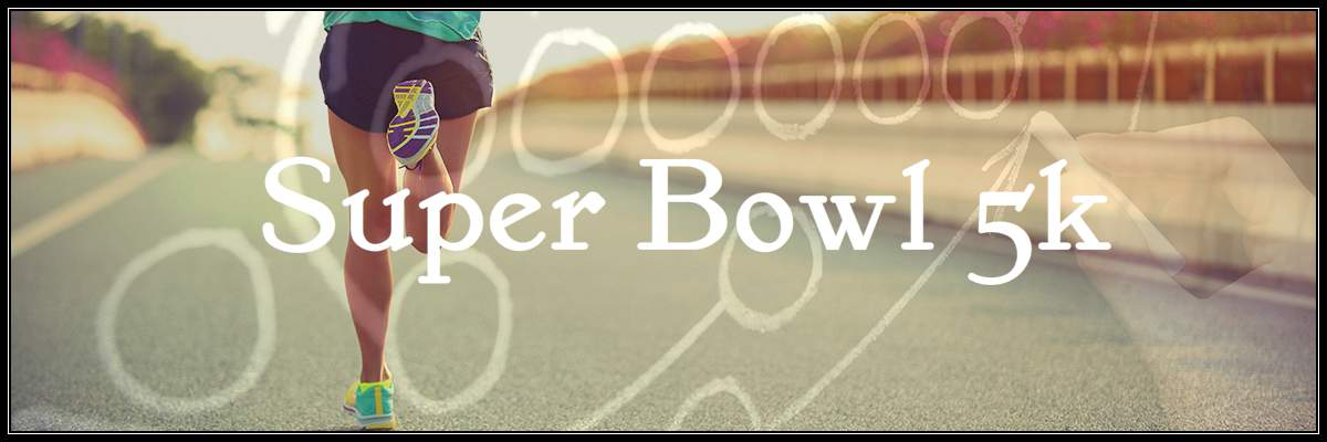 Super Bowl 5k Banner Image