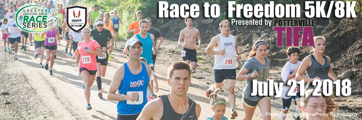 Race to Freedom 5K & 8K Banner Image