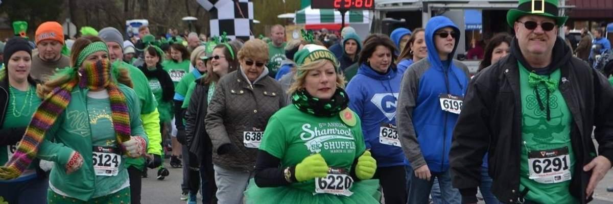 7th Annual Shamrock Shuffle 5K Banner Image