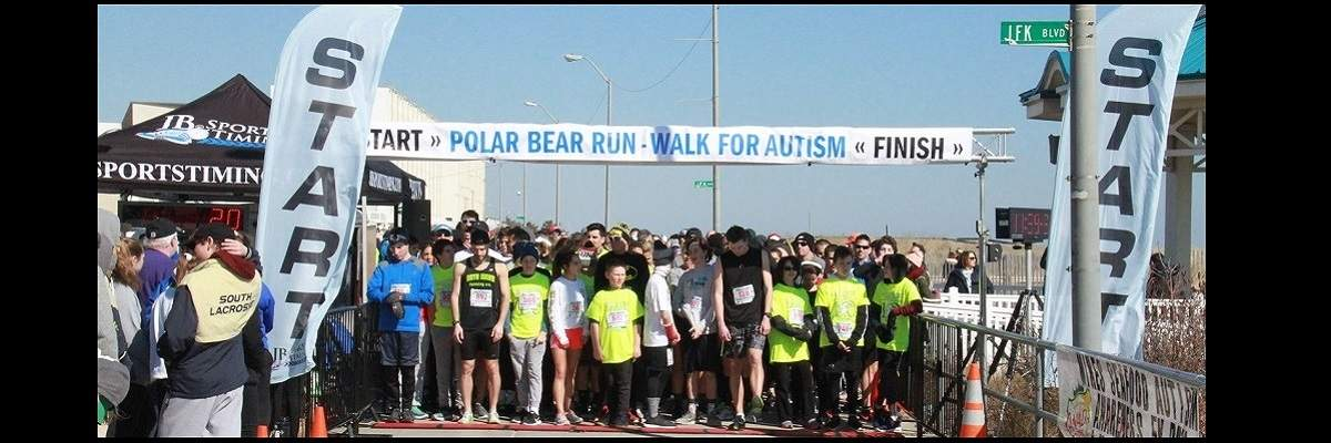 2019 Mike's Seafood Polar Bear 5K Run -Walk for Autism Banner Image