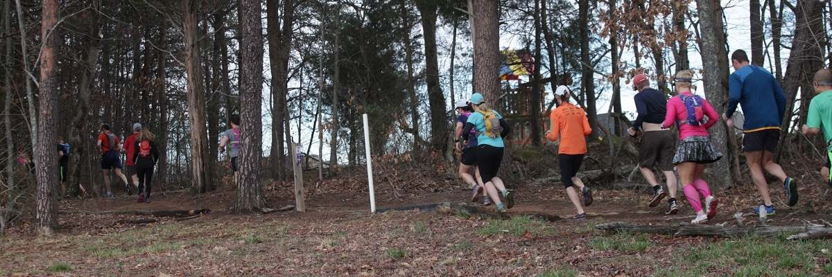 Lakeside Trail Race Banner Image