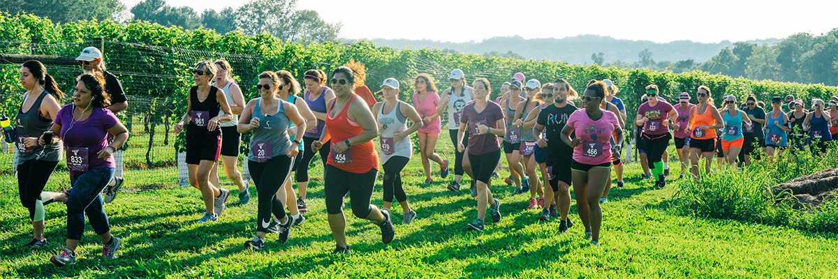 Charm City Run 5K at Boordy Vineyards Banner Image