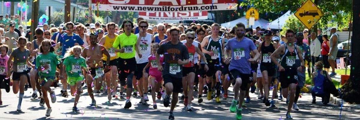 New Milford Fire Dept 5K, 1 Mile Road Race and Kids Dash Banner Image