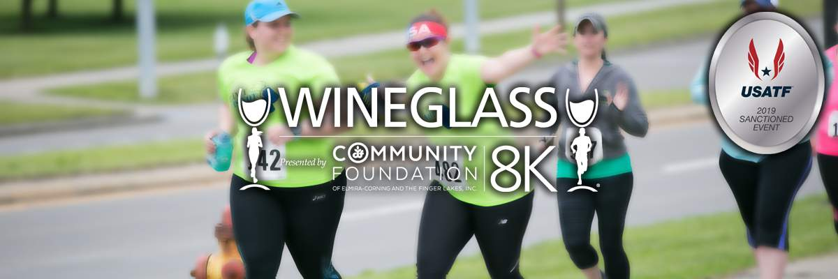 Wineglass - GlassFest 8K - Presented by The Community Foundation Banner Image
