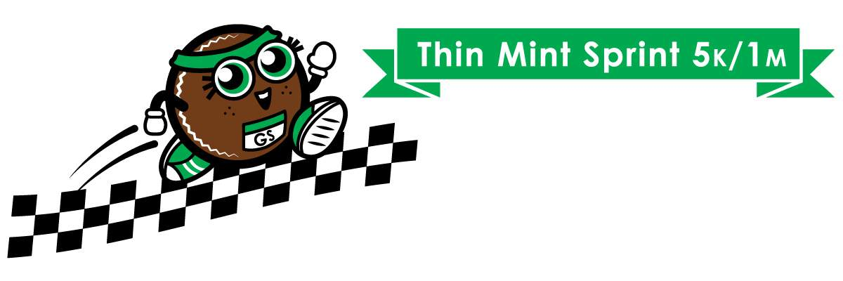 Girl Scout Thin Mint Sprint Banner Image