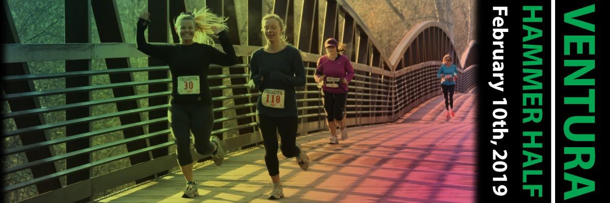 Ventura Hammer Half Marathon & 5K Banner Image