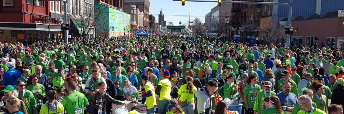 St Patrick's Day Races in Bay City presented by Catholic Federal Credit Union Banner Image