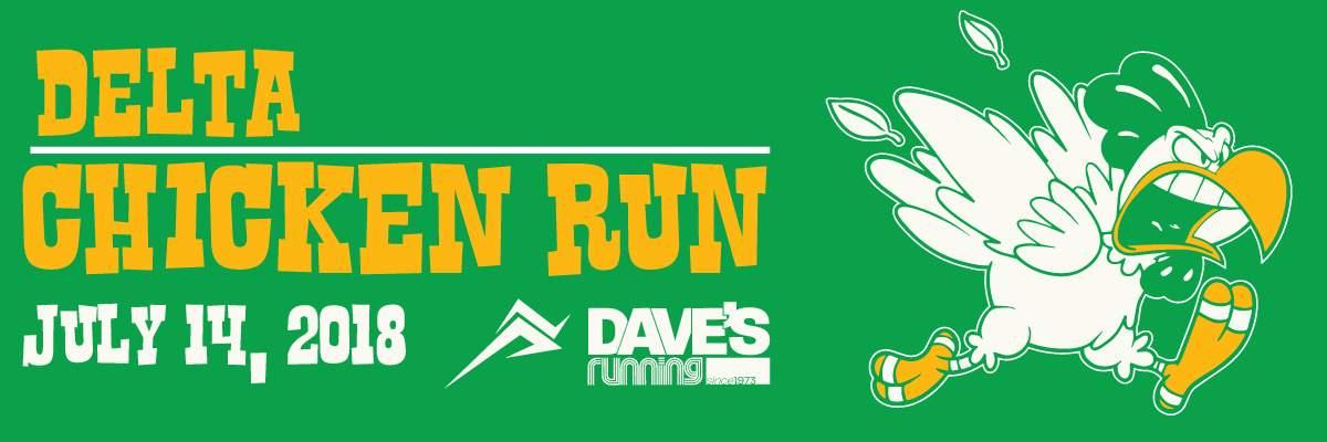Delta Chicken Run 5k Banner Image