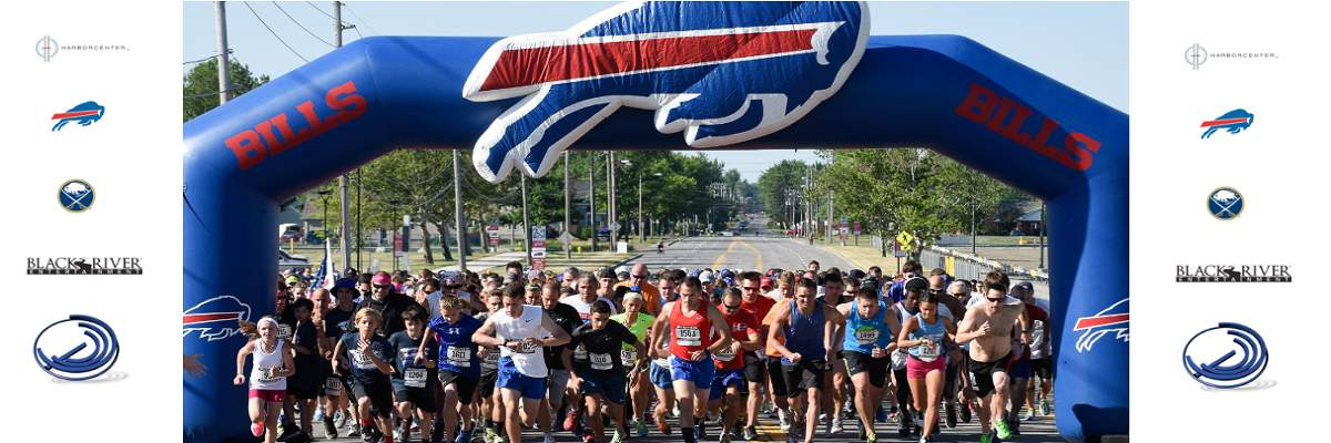 2018 Buffalo Bills 50 Yard Finish  Banner Image
