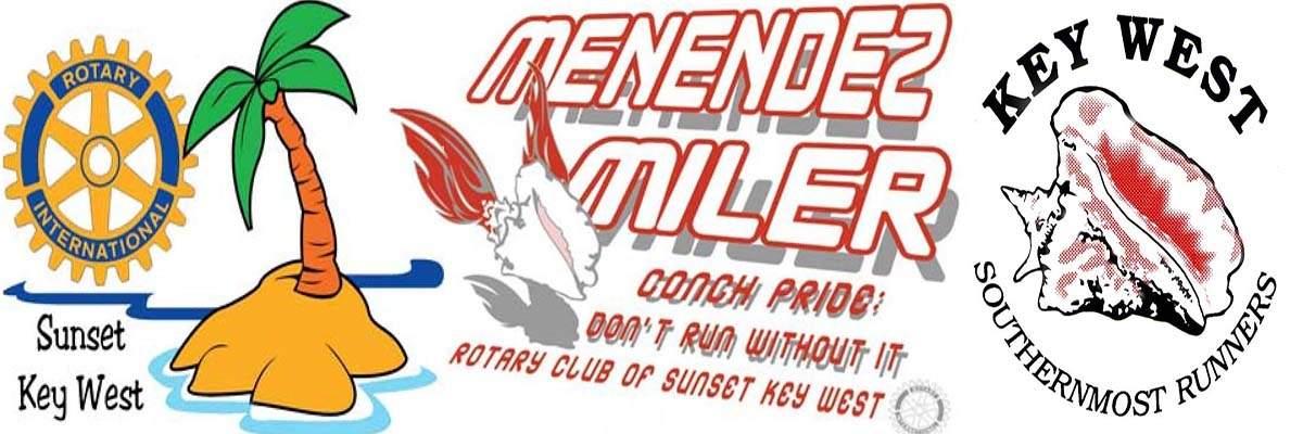 44 års racet Menendez Miler 5K Run/Walk 44 års racet