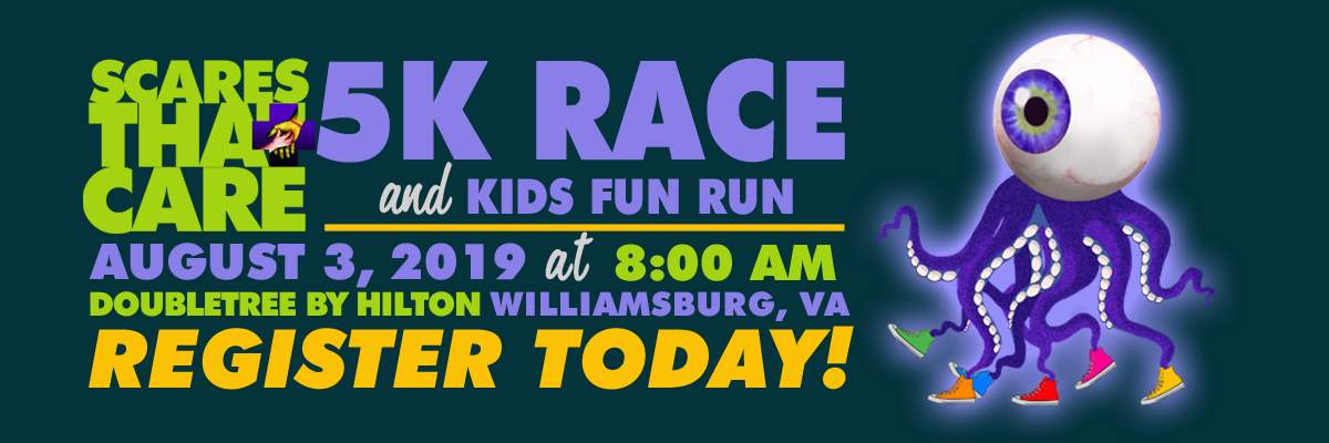 Scares That Care 5K and Kids Fun Run Banner Image
