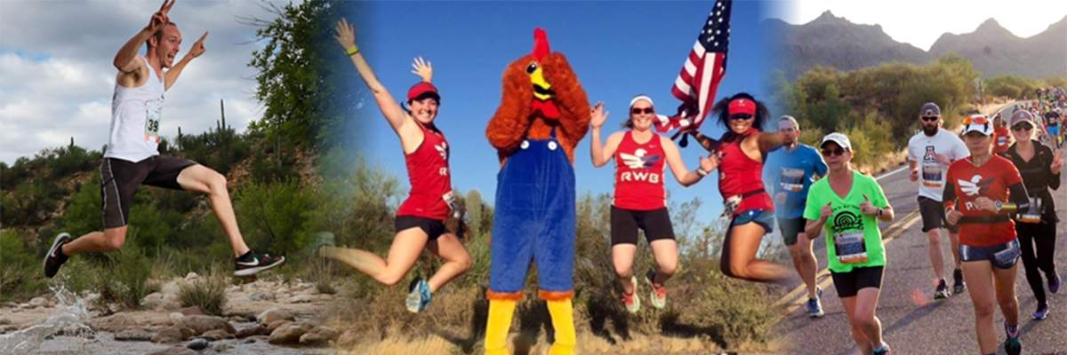 Everyone Runs Catalina State Park Split Endz 5 & 10 Mile Trail Race and 5k Road Run Banner Image
