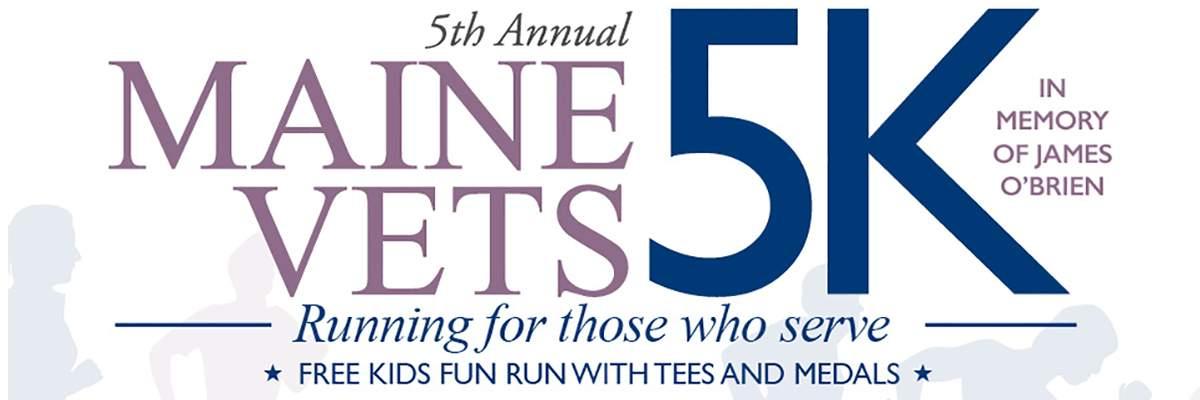 Maine Vets 5K Banner Image