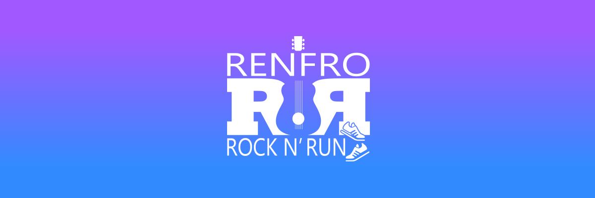 Renfro Rock 'N Run Half Marathon / 5-Miler / 5K Banner Image