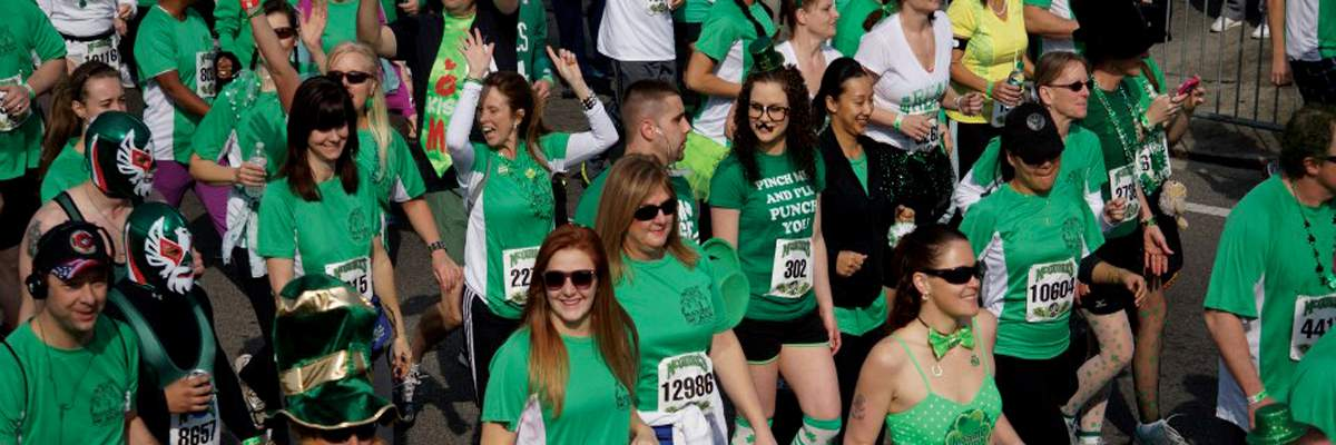 St Patrick's Day  Run Banner Image