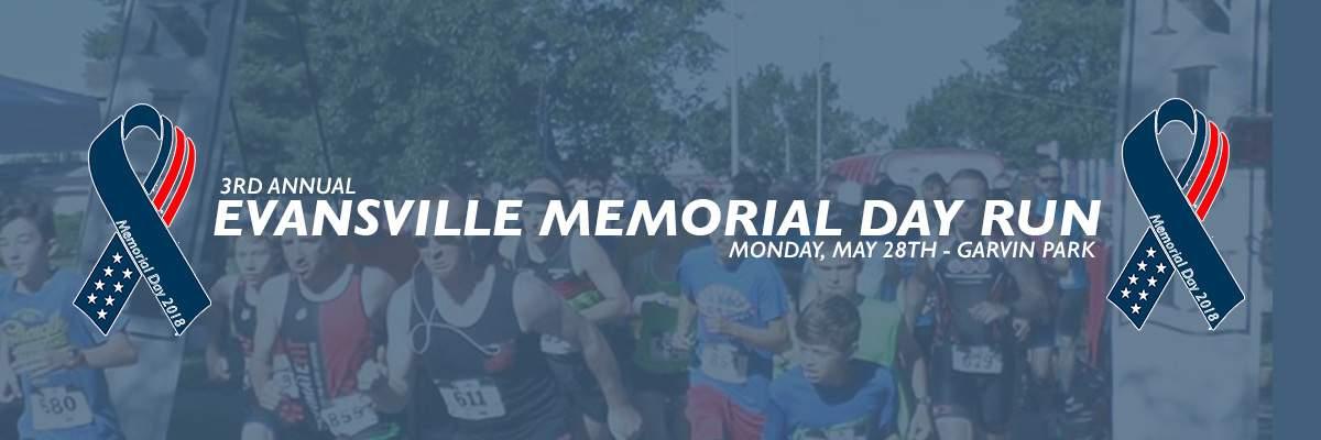 Evansville Memorial Day Run Banner Image