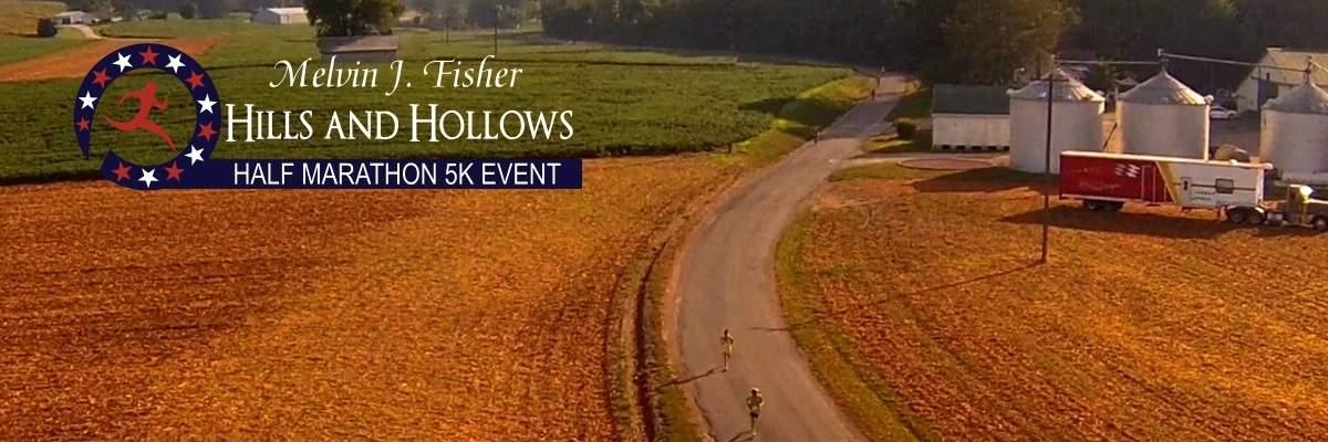 Hills and Hollow Half Marathon & 5K Banner Image