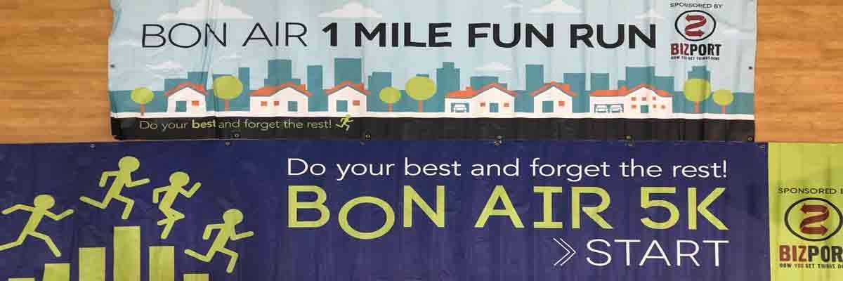 BON AIR 5K Banner Image