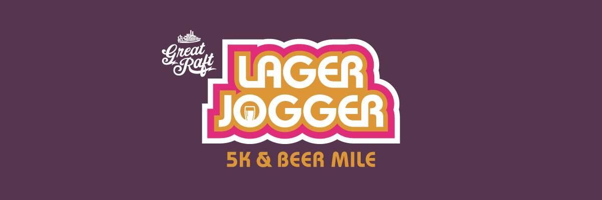 Lager Jogger 5k & Beer Mile Banner Image