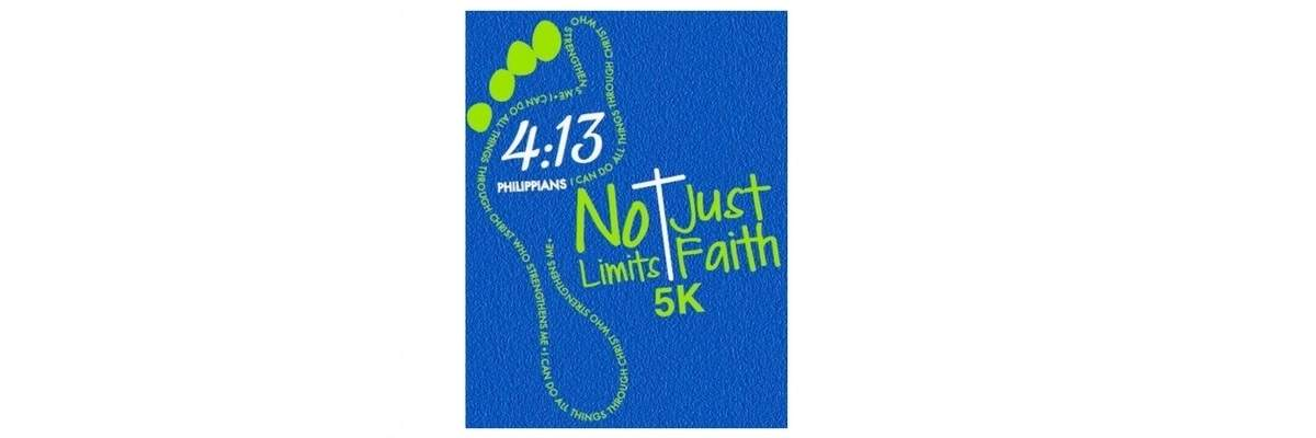 No Limits Just Faith 5k Banner Image