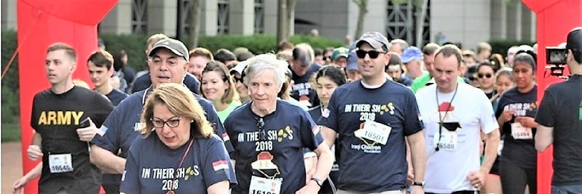 IN THEIR SHOES 5K FOR IRAQI CHILDREN Banner Image