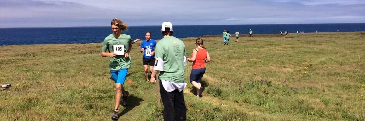 Waves & Whales 5K Trail Run/Walk Banner Image