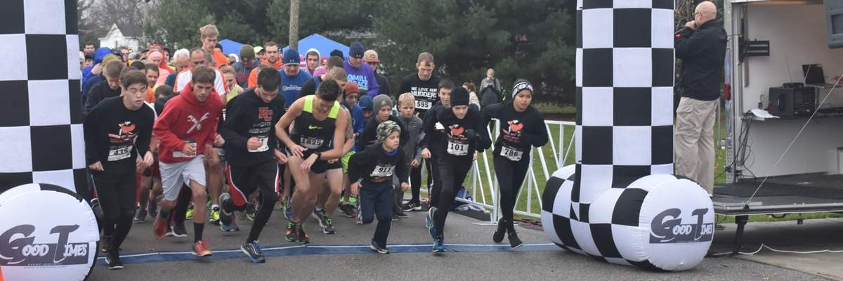 THE GOBBLE WOBBLE 5K Banner Image