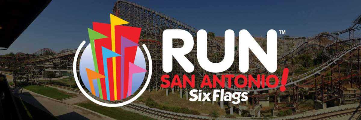 Run San Antonio! Six Flags Banner Image