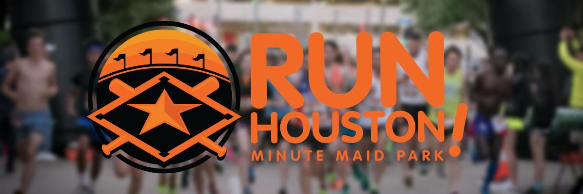 Run Houston! Minute Maid Park Banner Image