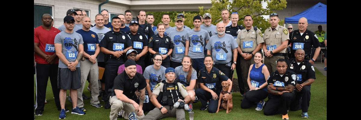 Running with the Law 5K, One Mile Fun Run & Virtual 5K Banner Image