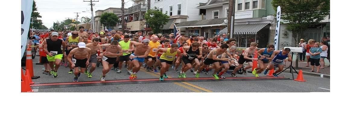 Pitman Freedom Four Miler Run Banner Image