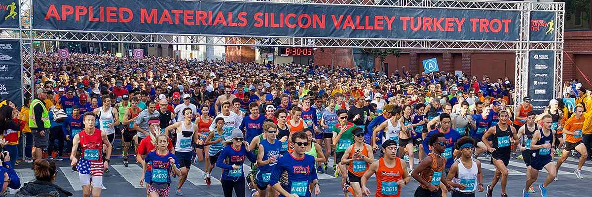 Applied Materials Silicon Valley Turkey Trot Banner Image