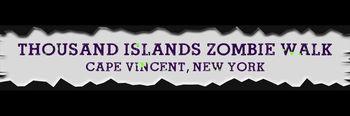 Thousand Islands Zombie Walk Banner Image