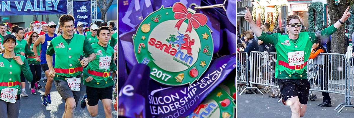 Santa Run Silicon Valley Banner Image