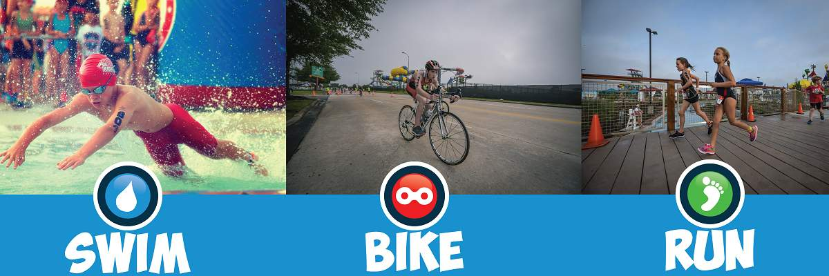Typhoon Texas Kids Triathlon Banner Image
