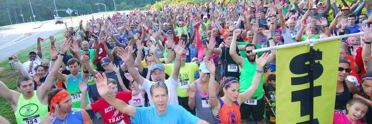 The Carying Place Labor Day Race for Home Banner Image