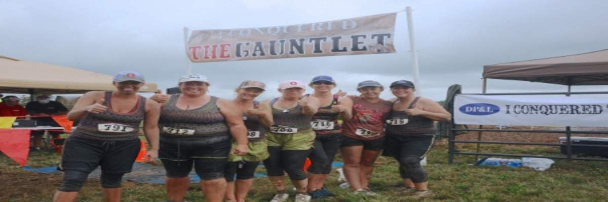 The Gauntlet 5k Trail Run Banner Image