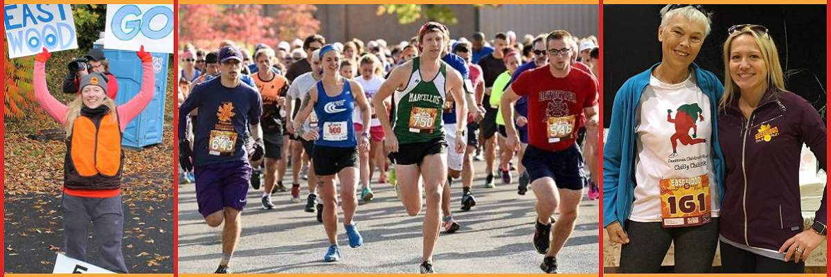 12th Annual Eastwood 5-Mile Run Banner Image