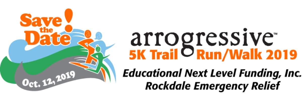 arrogressive™ 5k Trail Run/Walk 2019 Banner Image