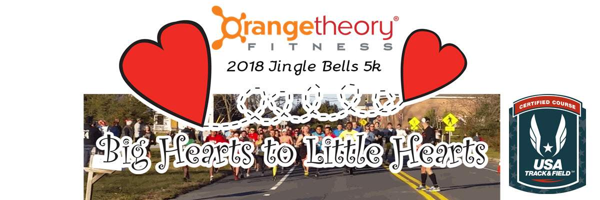 Orange Theory Fitness Jingle Bells 5k Race Banner Image