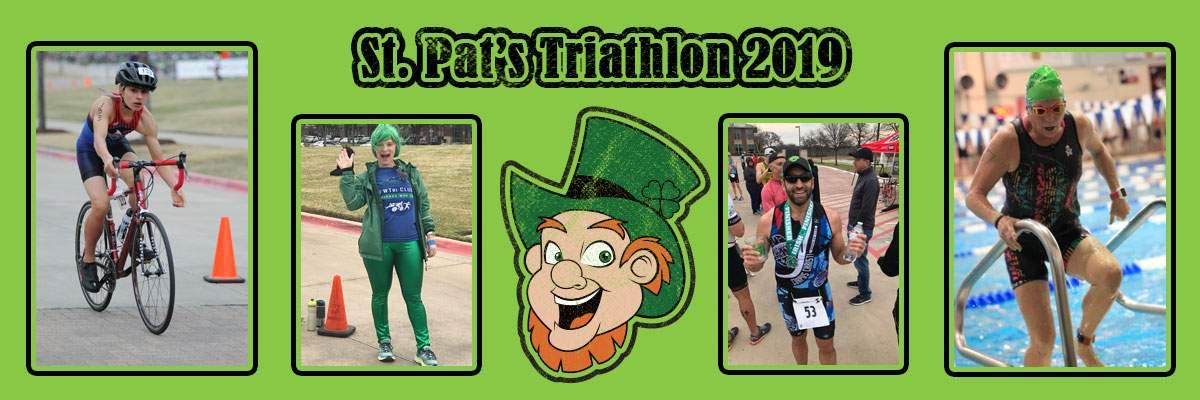 St. Patrick's Sprint Tri Banner Image