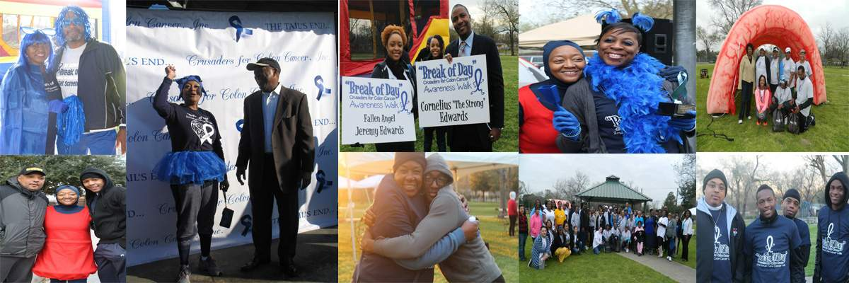 "6th Annual ""Break of Day"" Colon Cancer Awareness 5K Walk Banner Image"