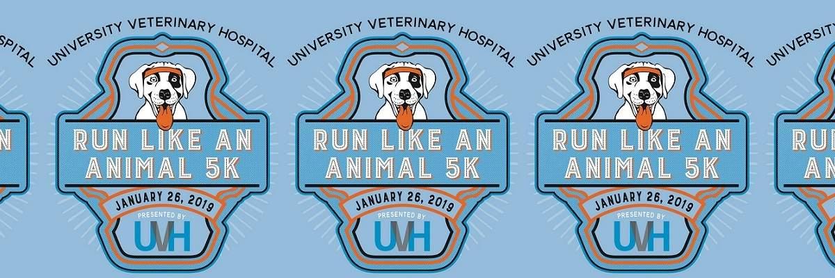 Run Like An Animal 5k & 1 mile dog run Banner Image