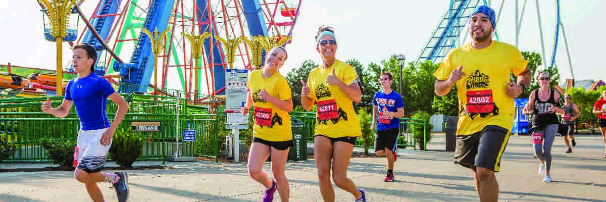 Run & Ride Cedar Point Banner Image