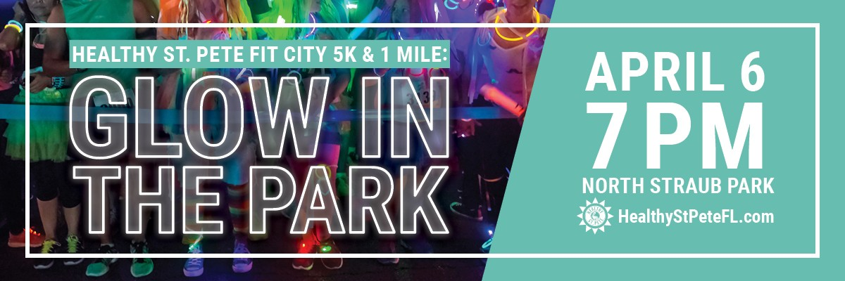3rd Annual Healthy St. Pete, Fit City 5K & 1 Mile Fun Run/Walk Banner Image